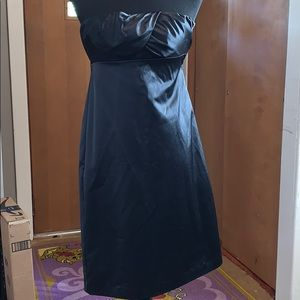 The limited size 2 black cocktail dress, strapless